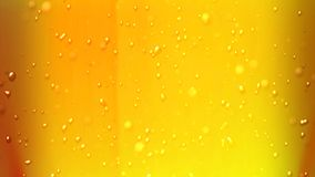Beer bubbles air up Royalty Free Stock Photos