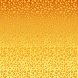 Beer bubbles background Royalty Free Stock Images