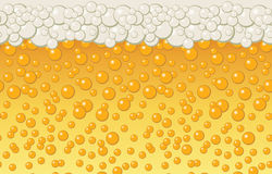 Beer bubbles background Royalty Free Stock Photo