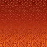 Beer bubbles background Stock Images