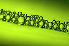 Beer Bubbles Closeup Royalty Free Stock Image