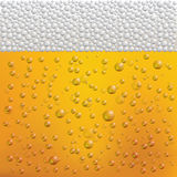 Beer Bubbles and Foam. Vector Illustration. Royalty Free Stock Images