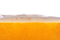 Beer bubbles. Lots of golden beer bubbles Royalty Free Stock Images