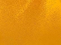 Beer bubbles. Lots of golden beer bubbles Royalty Free Stock Image