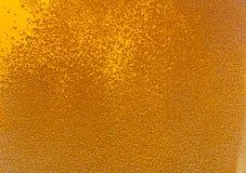 Beer bubbles. Lots of golden beer bubbles Stock Photo
