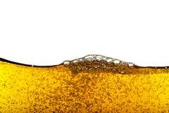 Beer bubbles. Macro,close up Stock Photos