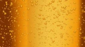 Beer bubbles (seamless loop) stock video footage