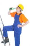 Beer builder Stock Photography