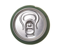 Beer can. Isolated on white background Royalty Free Stock Photo