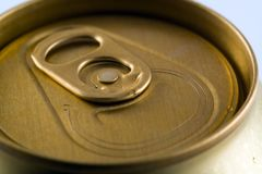 Beer Can. The top of a beer can Stock Images