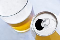 Beer can Royalty Free Stock Images