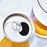Beer can Royalty Free Stock Photography