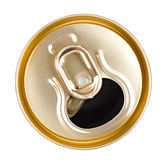 Beer can top Royalty Free Stock Photo