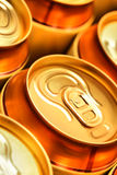 Beer cans Royalty Free Stock Images