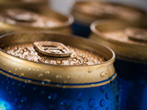 Beer cans Stock Photography