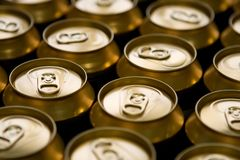 Beer cans Royalty Free Stock Image