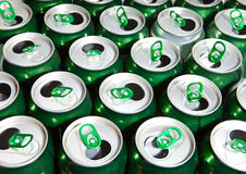 Beer cans.abstract background Stock Photo
