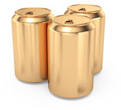 Beer cans Royalty Free Stock Photos