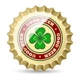 Beer cap Royalty Free Stock Image