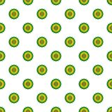 Beer cap pattern seamless. In flat style for any design Royalty Free Stock Photo