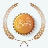 Beer cap Stock Image