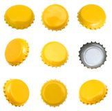 Beer caps Royalty Free Stock Photography