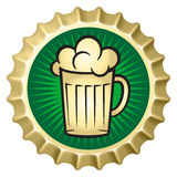 Beer caps vector illustration