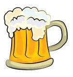Beer cartoon Stock Image