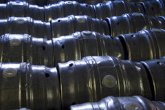 Beer casks Royalty Free Stock Images