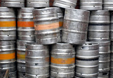 Beer casks Royalty Free Stock Photography