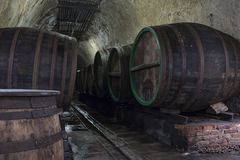 Beer cellar Royalty Free Stock Images