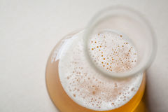 Beer and chemistry Royalty Free Stock Photo