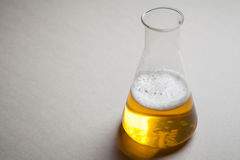 Beer and chemistry Stock Photography