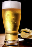 Beer and chips. Stock Photo