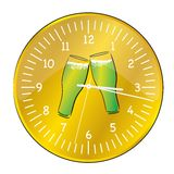 Beer clock Stock Photos