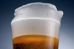 Beer close up Royalty Free Stock Photography