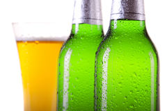 Beer closeup Royalty Free Stock Photography