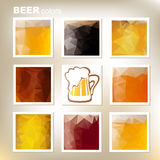 Beer colors Royalty Free Stock Photography