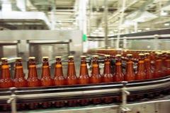 Beer conveyor Royalty Free Stock Image