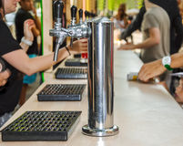 Beer cranes. Stock Photo