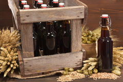 Beer crate Royalty Free Stock Photo