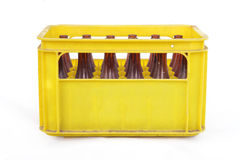 Beer crate Stock Photos