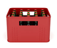 Beer crate Royalty Free Stock Photos