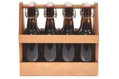 Beer crate Stock Photos