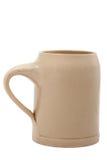 Beer cup (Bierkrug) isolated Stock Image