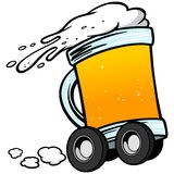 Beer Delivery Service Royalty Free Stock Photos