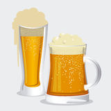 Beer design Stock Images