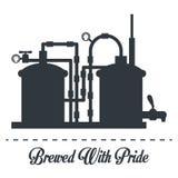 Beer design. Stock Photo