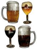 Beer design Stock Photo