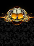 Beer design Stock Photos